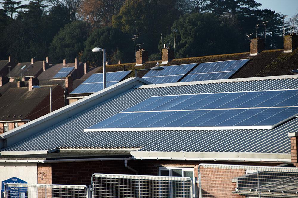 Exeter solar panels