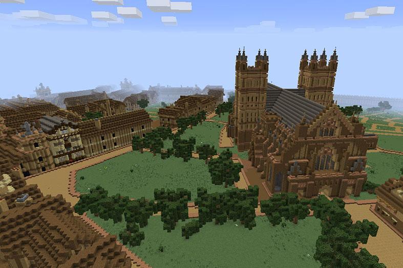 Exeter 2025 Minecraft Challenge