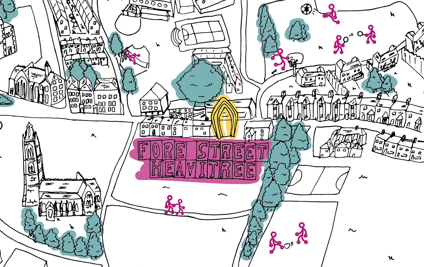 Heavitree Community Map