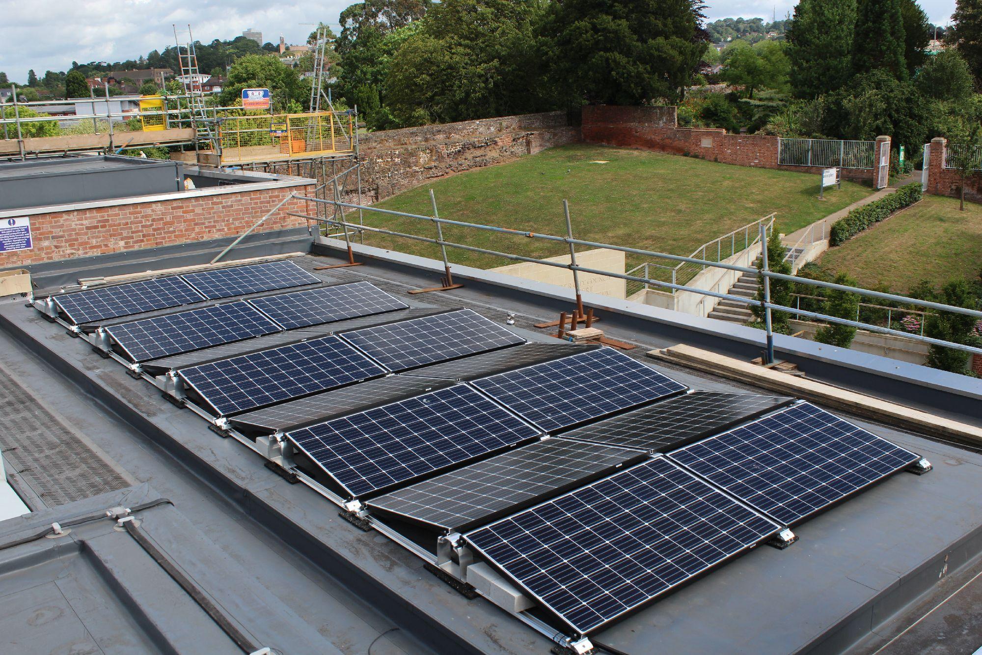 Royal Albert Memorial Museum & Art Gallery Solar Project