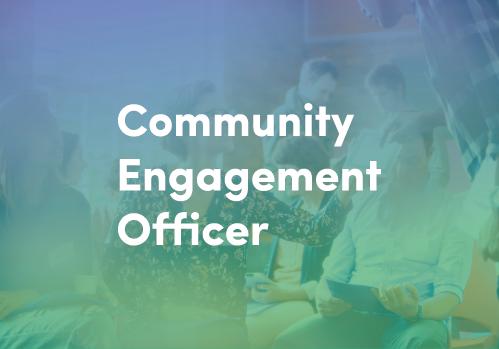 We're hiring! Community Engagement Officer